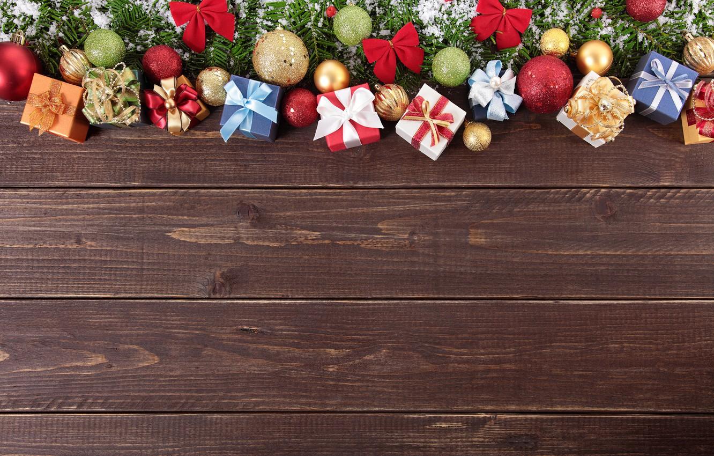 Фото обои Новый Год, Рождество, wood, merry christmas, decoration, xmas, fir tree