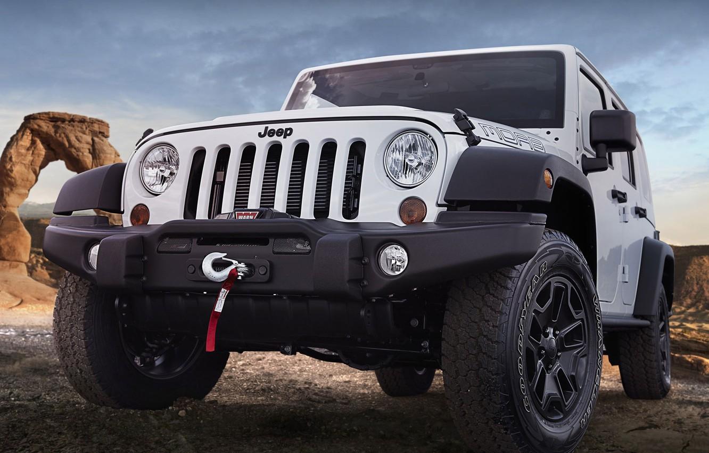 Фото обои внедорожник, Wrangler, Jeep, Moab