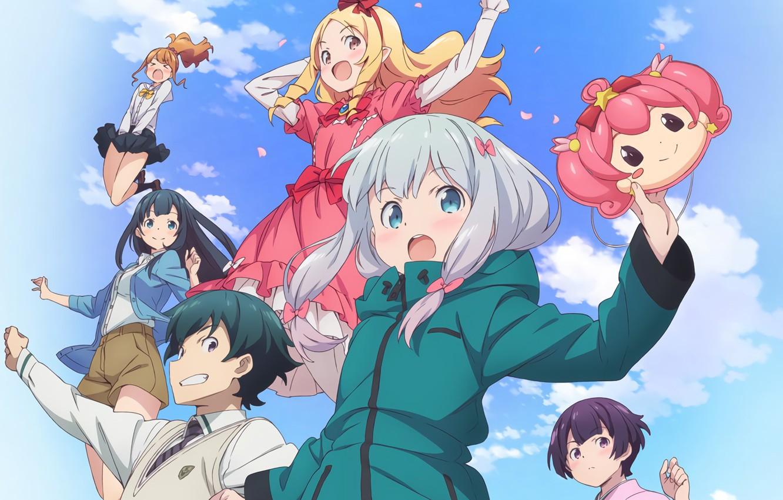 Фото обои anime, brothers, friends, manga, japanese, bishojo, EroManga-Sensei, Elf Yamada, Masamune Izumi, mussune, Sagiri Izumi, Megumi …