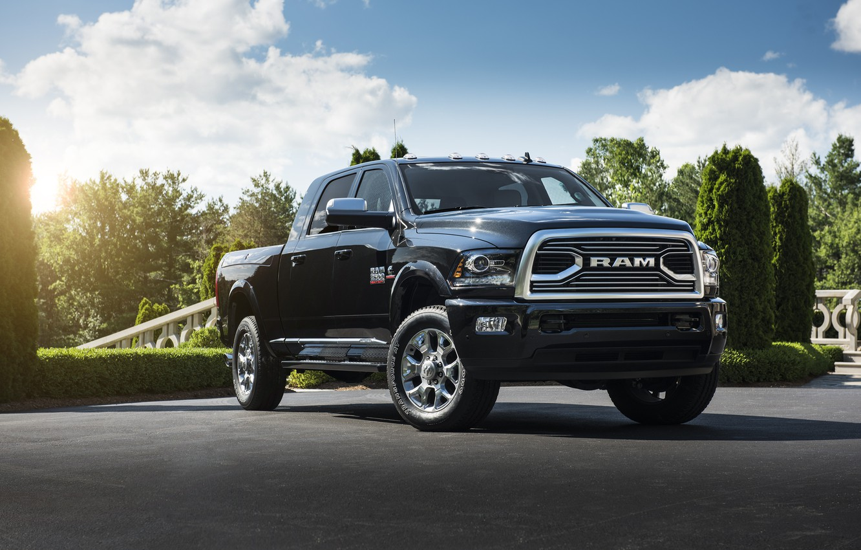 Фото обои Пикап, Автомобиль, Ram, 2500, Limited Tungsten Edition Mega Cab, Dodge 2018