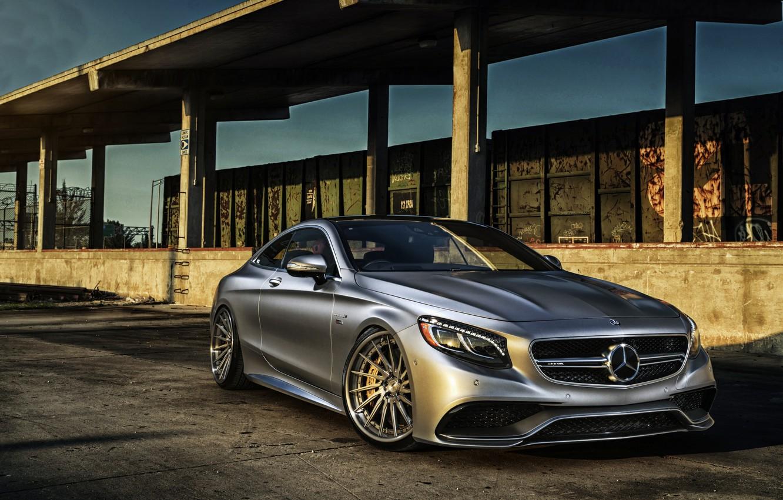 Фото обои купе, Mercedes-Benz, мерседес, AMG, Coupe, S-Class, C217