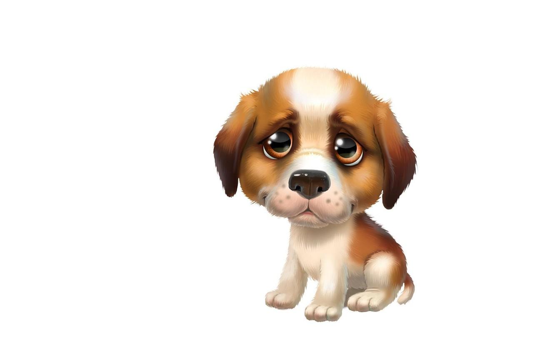 мультяшные картинки с щенками папа прячутся