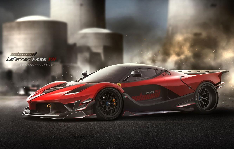 Фото обои car, авто, тюнинг, Феррари, Ferrari, автомобиль, auto, tuning, Yasid Design, Yasid Oozeear