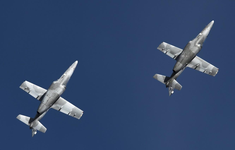 Фото обои небо, самолёты, авиа шоу