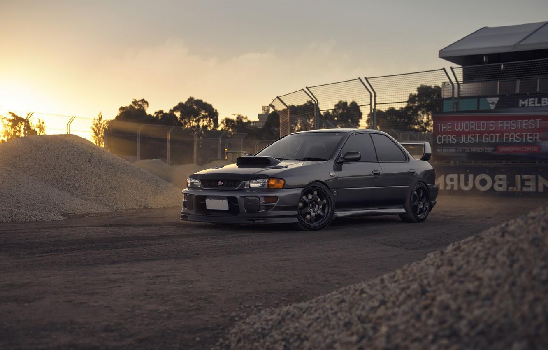 Фото обои Subaru, Impreza, WRX, STI