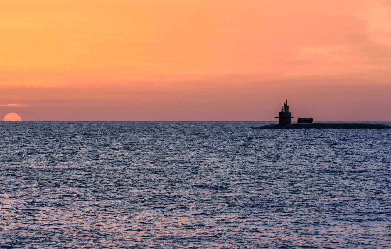 мечтах самых подводная лодка закат в море фото парням