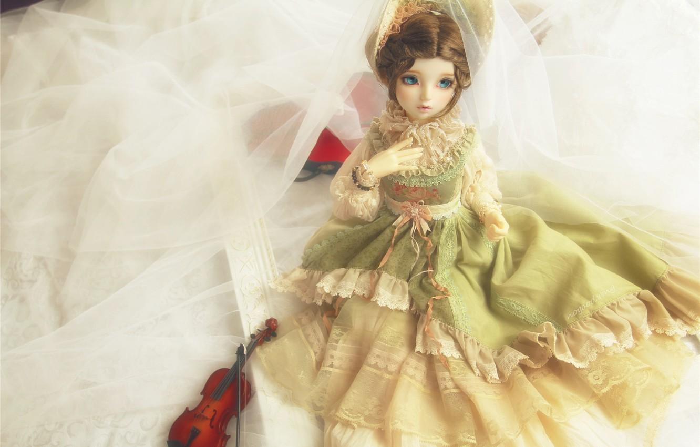 Обои платье, Кукла, барышня. Разное foto 6