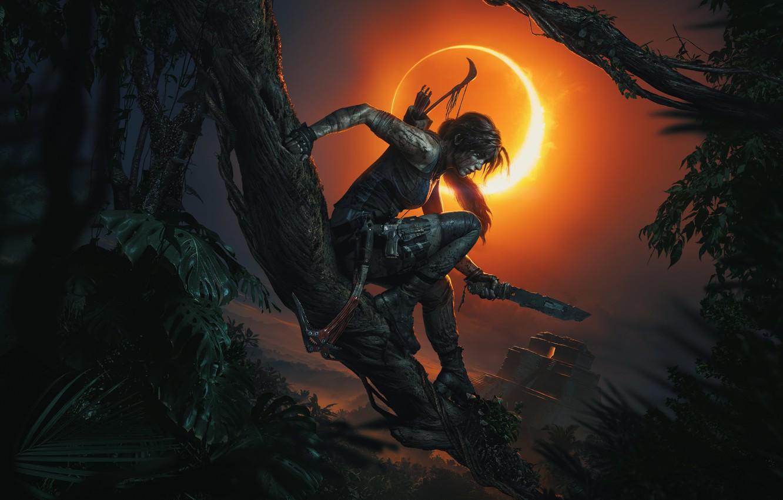 Фото обои Tomb Raider, Лара Крофт, Shadow of the Tomb Raider