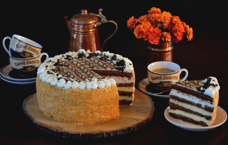 Картинка чай и тортик