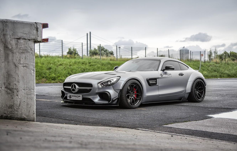 Фото обои купе, Mercedes-Benz, Mercedes, суперкар, мерседес, AMG, Coupe, Prior-Design, C190, PD800GT, GT-Class