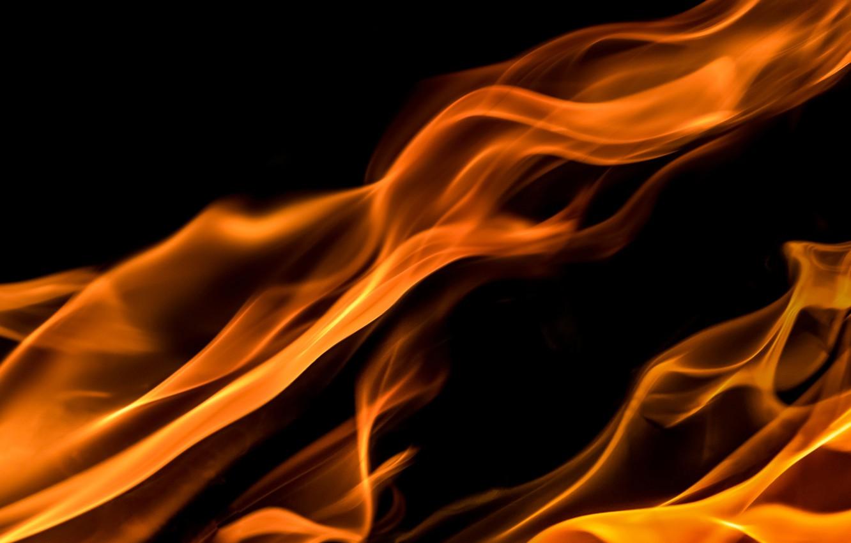 Фото обои огонь, пламя, костер