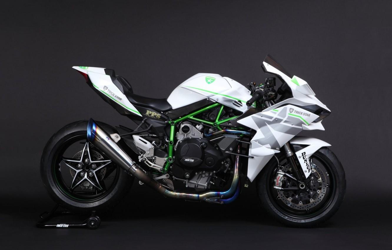 Фото обои Kawasaki, Ninja, Motorbike