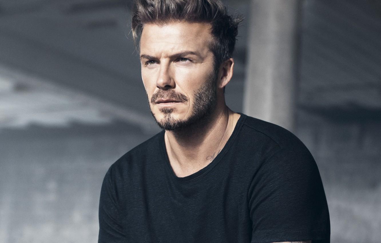 Фото обои взгляд, фото, мужчина, David Beckham, David Beckham (2018)