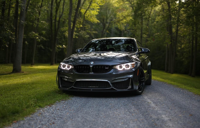 Фото обои BMW, Bavaria, Gray, F82