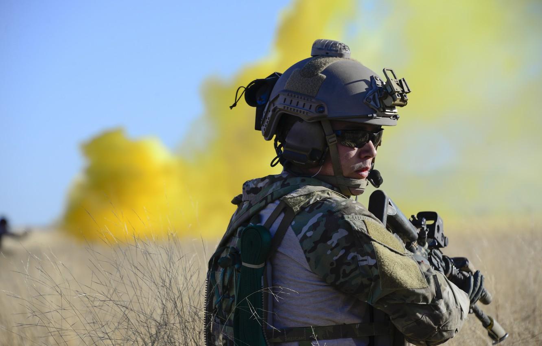 Фото обои оружие, армия, солдат