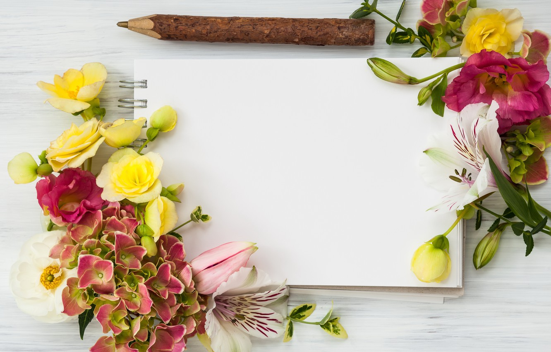 Фото обои цветы, wood, flowers, beautiful, композиция, frame, floral