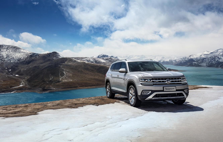 Фото обои Volkswagen, 2018, кроссовер, SUV, Atlas, Teramont