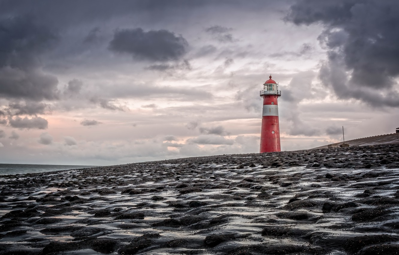 Обои лето, Облака, Дирксланд, нидерланды. Пейзажи foto 9