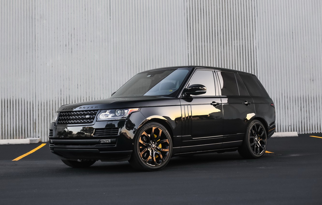 Фото обои lights, Range Rover, with, color, exterior, trim, smoked, matched