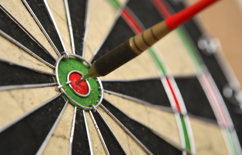Фото обои precision, dart, dartboard