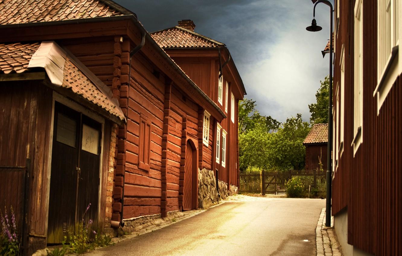 Обои старый город, дома, old city, улица, town, Old street. Города foto 6