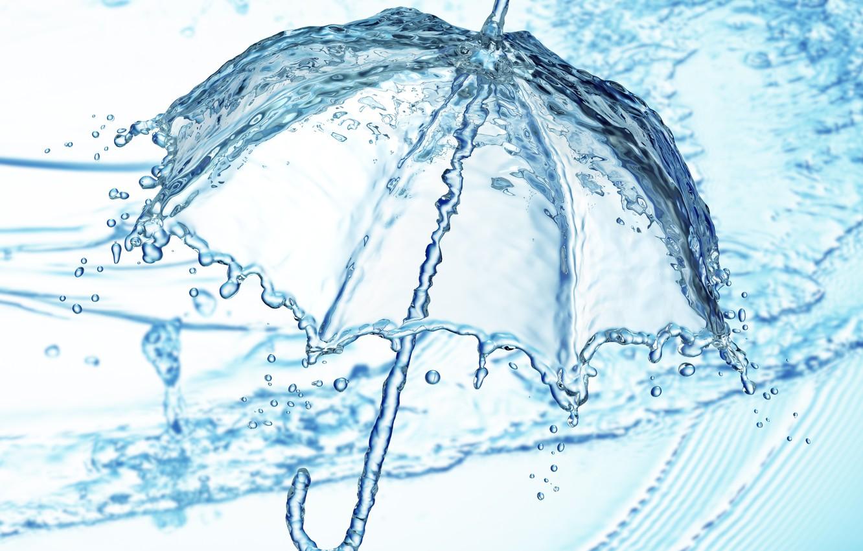 Фото обои вода, капля, всплеск, water, illustration, detailed