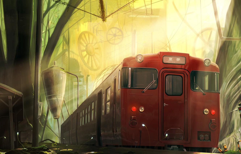 Картинки поезд фэнтези