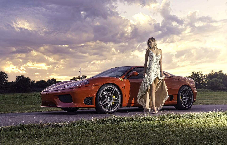 Женщины и автомобили картинки для рабочего стола