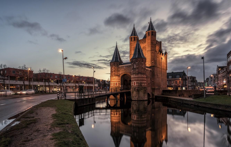 Обои нидерланды, Голландия, Haarlem. Города foto 13
