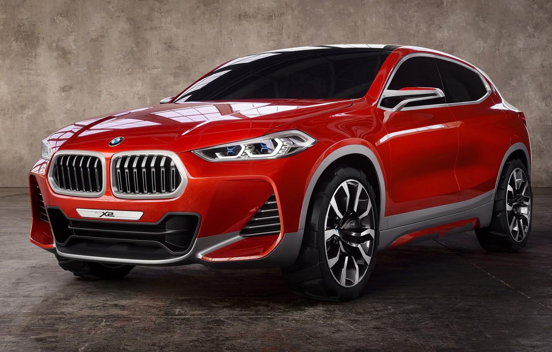 Фото обои авто, красный, Bmw, BMW X2
