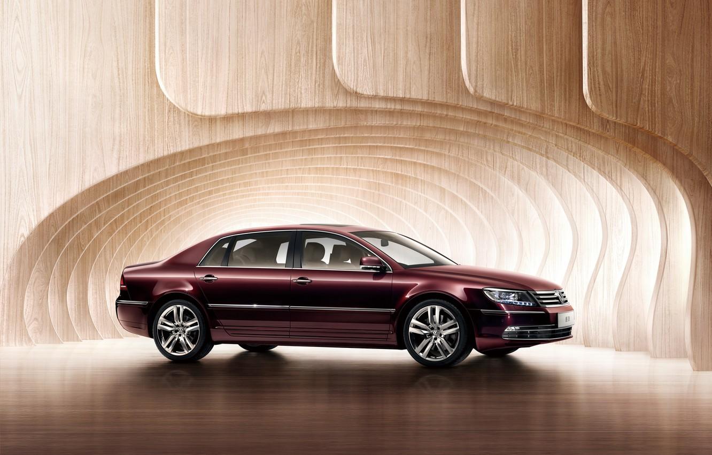 Фото обои фон, Volkswagen, фольксваген, Phaeton, файтон