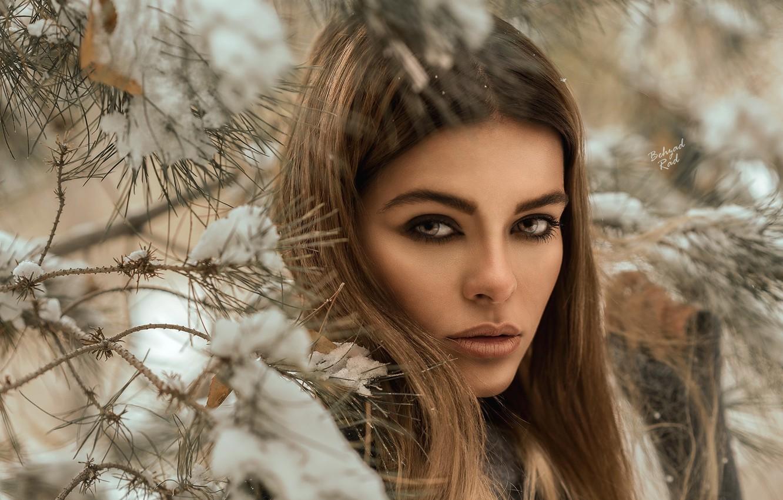 фото женский холодный взгляд
