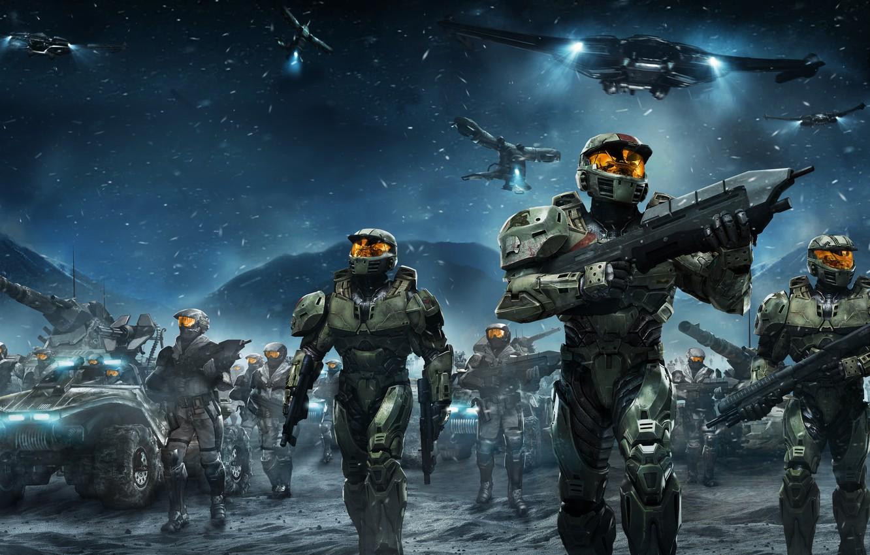 Фото обои Game, Halo Wars, Ensemble Studios
