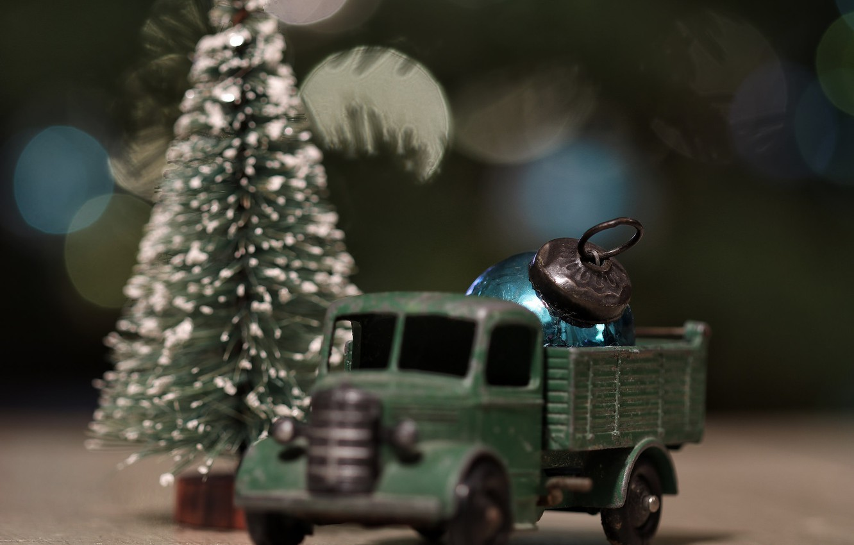 Фото обои фон, праздник, игрушки