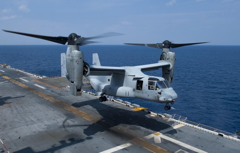 Обои конвертопланы, osprey, Mv-22b. Авиация foto 15