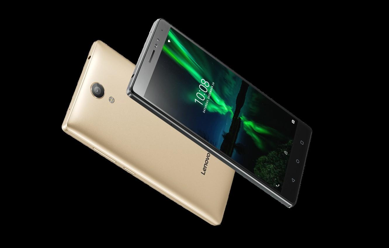 Фото обои gold, black, Lenovo, смартфоны, Phab 2 Plus