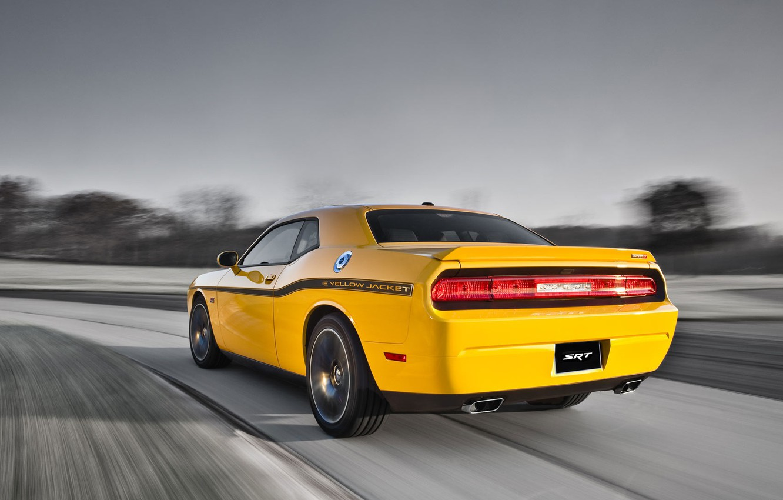 Фото обои Dodge, SRT8, Challenger