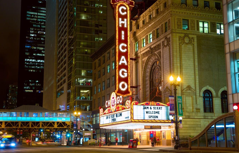 Фото обои car, авто, здание, сооружение, Город, Чикаго, City, такси, Chicago, taxi, building, structure