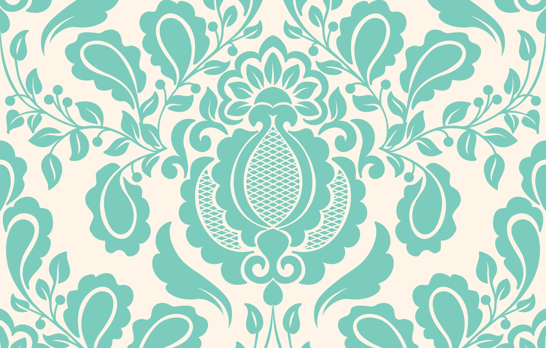 Фото обои цветы, обои, узор, текстура, орнамент, vintage, element, floral, seamless, pattern .