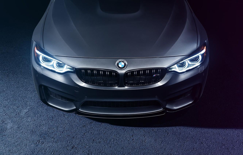 Фото обои BMW, Face, Silver, F82