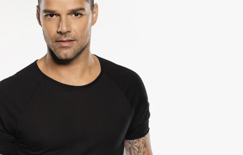 Фото обои men, singer, look, Ricky Martin