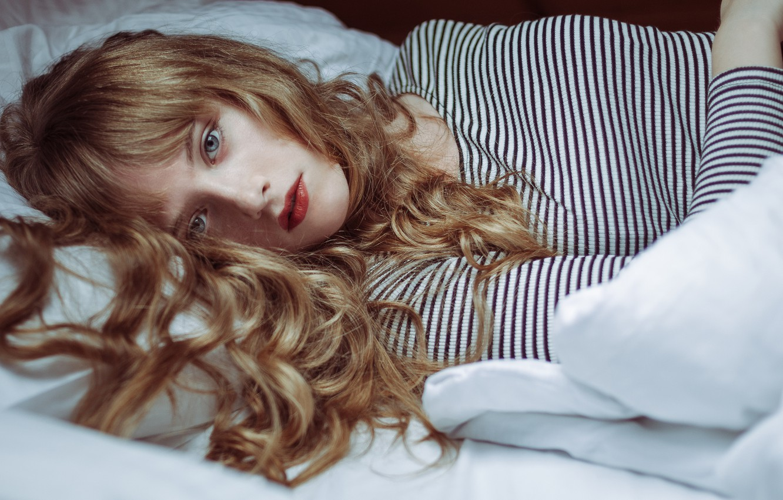 Фото обои волосы, губки, локоны, kassio. epia, heart as a river