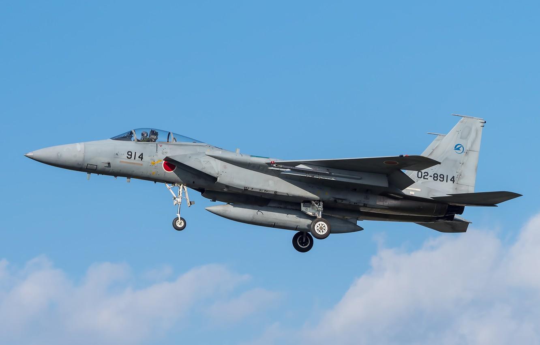 Обои Самолёт, f-15j. Авиация foto 11