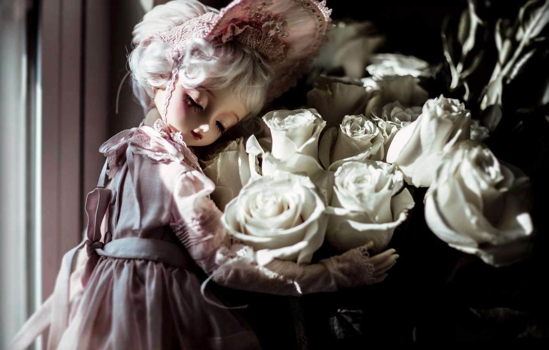 Обои платье, Кукла, барышня. Разное foto 9