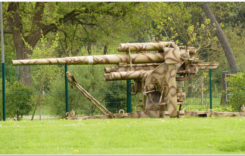 Фото обои gun, normandy, ww2. war