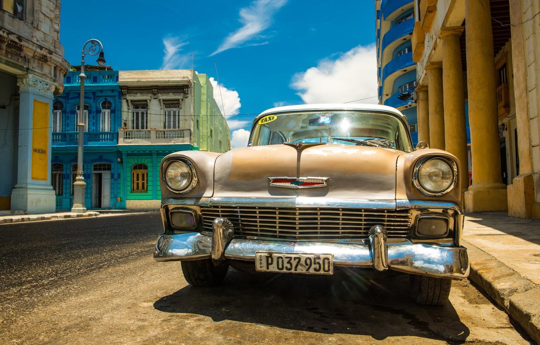 Фото обои Chevrolet, 1956, Havana, Belair