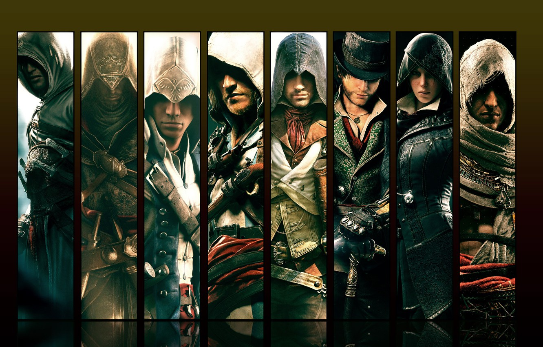 Фото обои Герои, Assassin's Creed, Ассассины