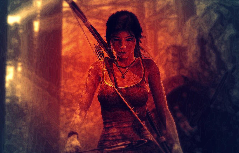 Фото обои Tomb Raider, Лара Крофт, Lara Coft, Crystal Dynamics, Томб Райдер