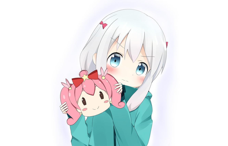 Фото обои kawaii, star, bear, blush, anime, asian, manga, japanese, sugoi, bishojo, light novel, kuma, EroManga-Sensei, mussune, …