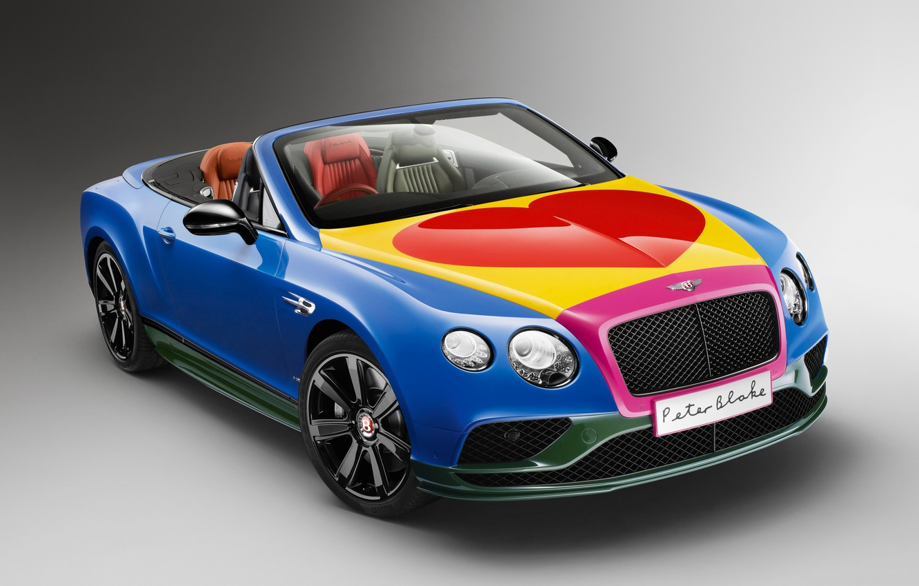 Фото обои bentley, pop art, Peter Blake
